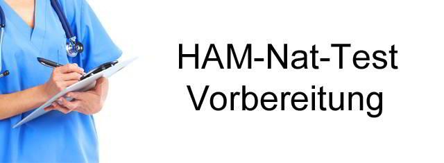 HAM-Nat-Test Vorbereitung
